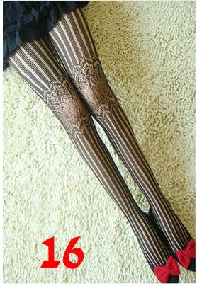 Mönstrad Fisknäts strumpbyxor i läcker design