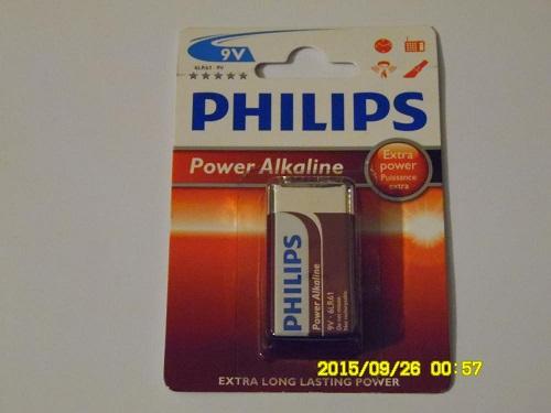 Batteri 1-pack 9V