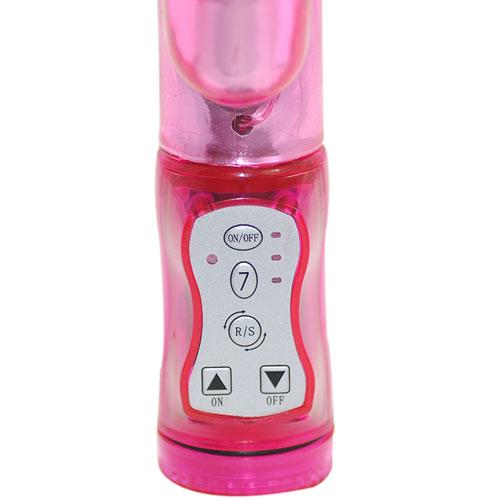 Pink Steel Balls G-Spot Vibrator(Vattentät)