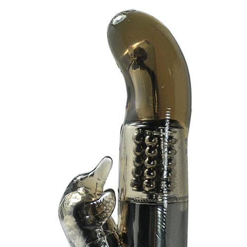 Black Steel Balls G-Spot Vibrator (vattentät)