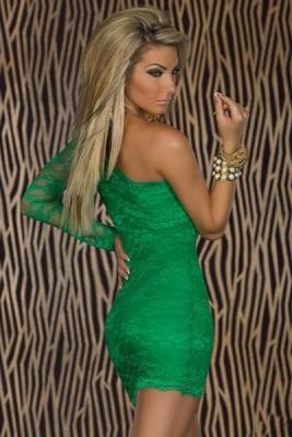 Grön klänning