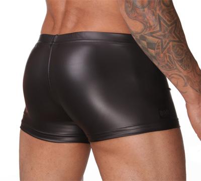 Sexig boxershorts i wet-look