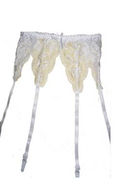 Sexig höfthållare i Blommig spets