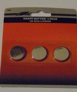 3-pack CR2032