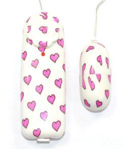 Love Heart Vibrerande Bullet