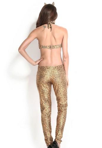 Sexy Leopard kvinna