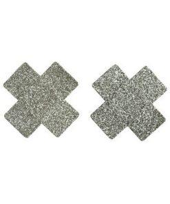 Silver Kors Klister Bröst dekor