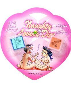 Kärlek Dice (2 tärningar med kärlek ställning i ett paket)