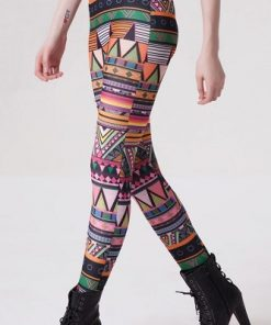 Indian Mönstrade Leggings